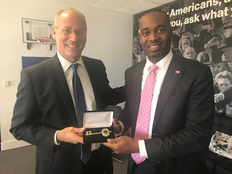 Premier David Burt in Miami Bermuda Dec 5 2017  (7)
