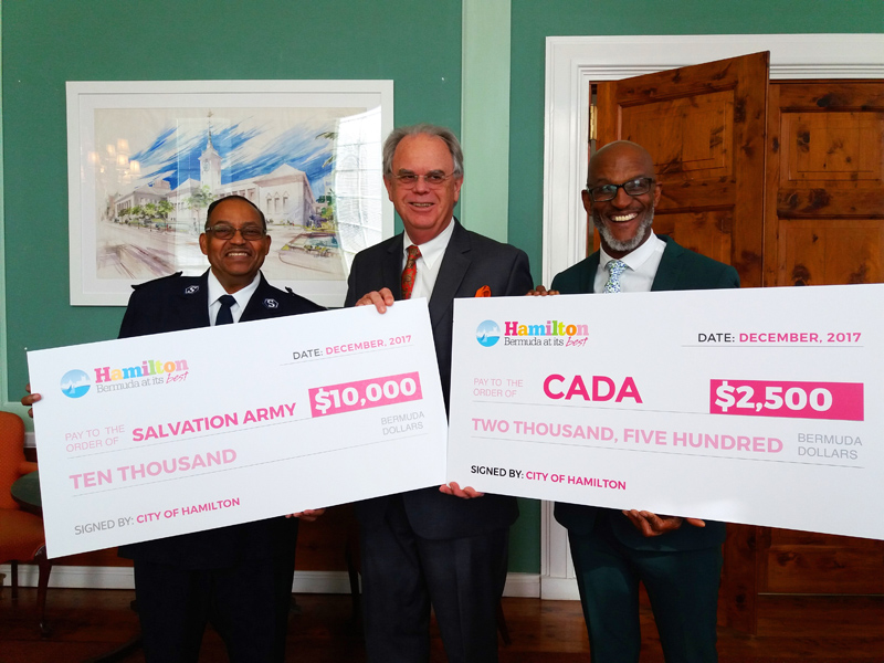 SA & CADA donations Bermuda Dec 2017