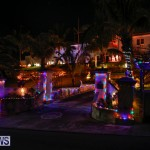 Sayle Road Christmas Decorations Lights Bermuda, December 22 2017-7345