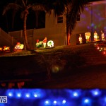 Sayle Road Christmas Decorations Lights Bermuda, December 22 2017-7381