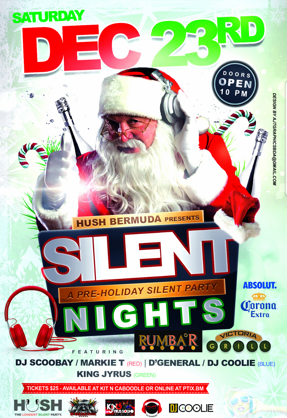 Silent Night Bermuda Dec 18 2017