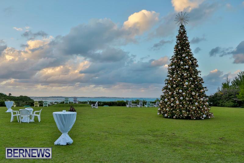 Tree Lighting At Fairmont Southampton Bermuda, December 2 2017_3195