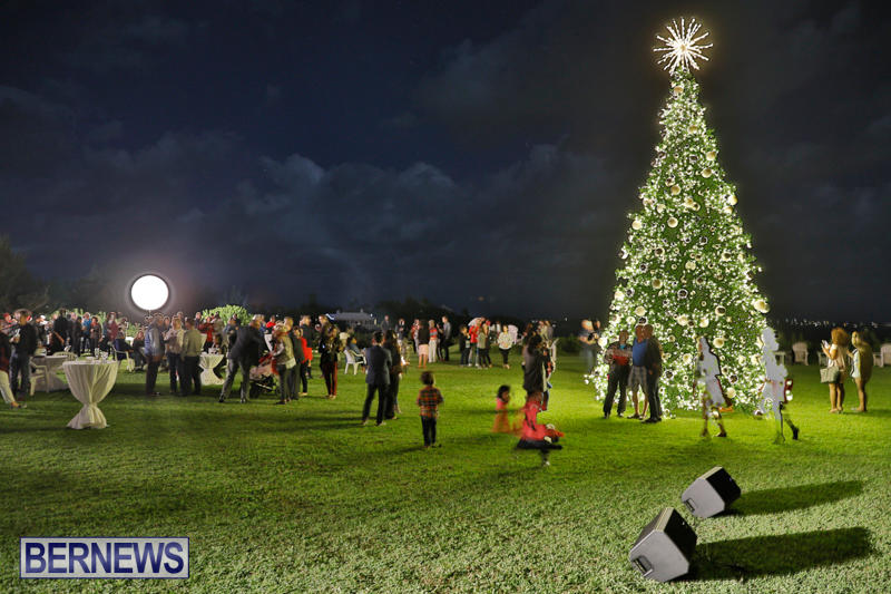 Tree Lighting At Fairmont Southampton Bermuda, December 2 2017_3327