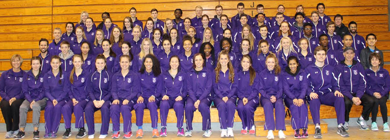 Western Ontario University Track Team Bermuda Dec 2017
