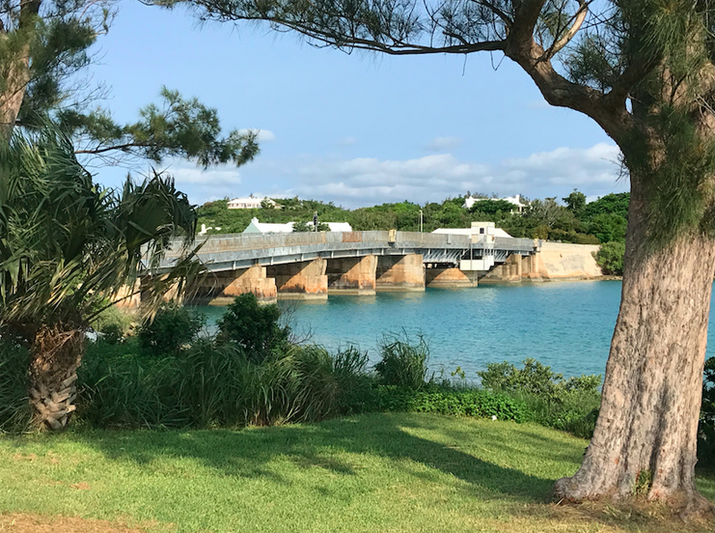 existing Swing Bridge Bermuda Dec 5 2017