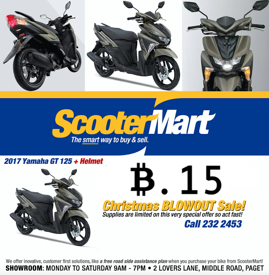 scootermart Bermuda Dec 20 2017