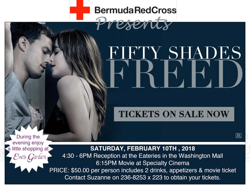 50shadesfreed event poster