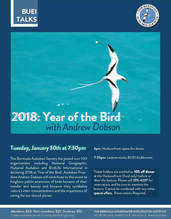 BUEI 2018 Year of the Bird Jan 2018