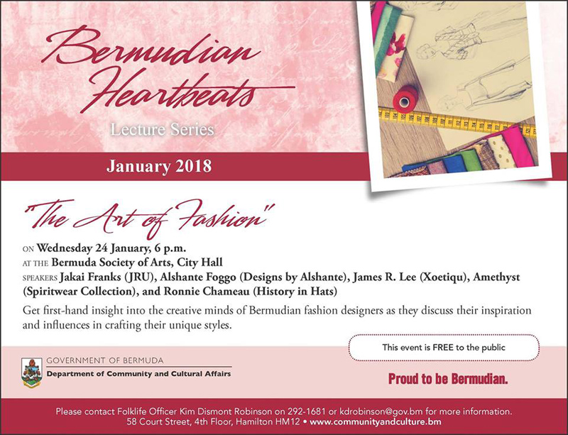 Bermudian Heartbeats January 2018