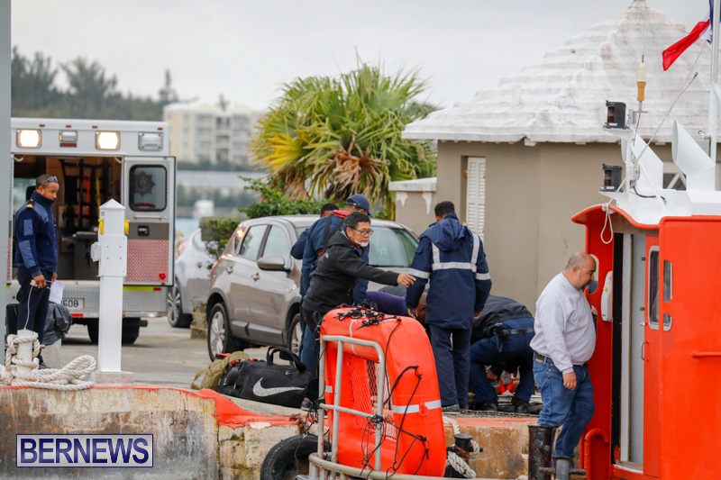 Injured Crew Members Car Ship Pegasus Highway Medivac Bermuda, January 6 2018-2263