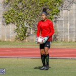 Middle Girls Bermuda School Sports Federation All Star Football, January 20 2018-3437