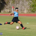 Middle Girls Bermuda School Sports Federation All Star Football, January 20 2018-3474
