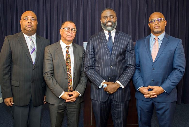 Minister Caines PeaceBuilders Bermuda Jan 11 2018