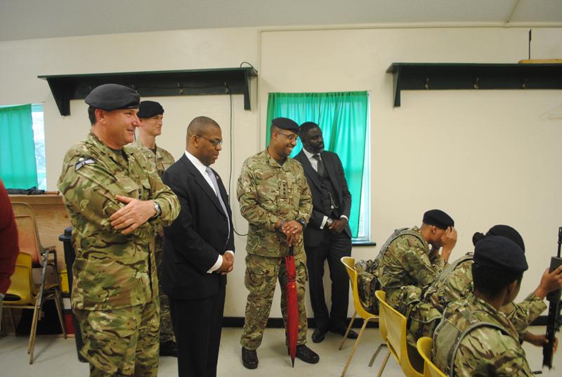 Ministers visit new RBR recruits Bermuda Jan 15 2018 (3)