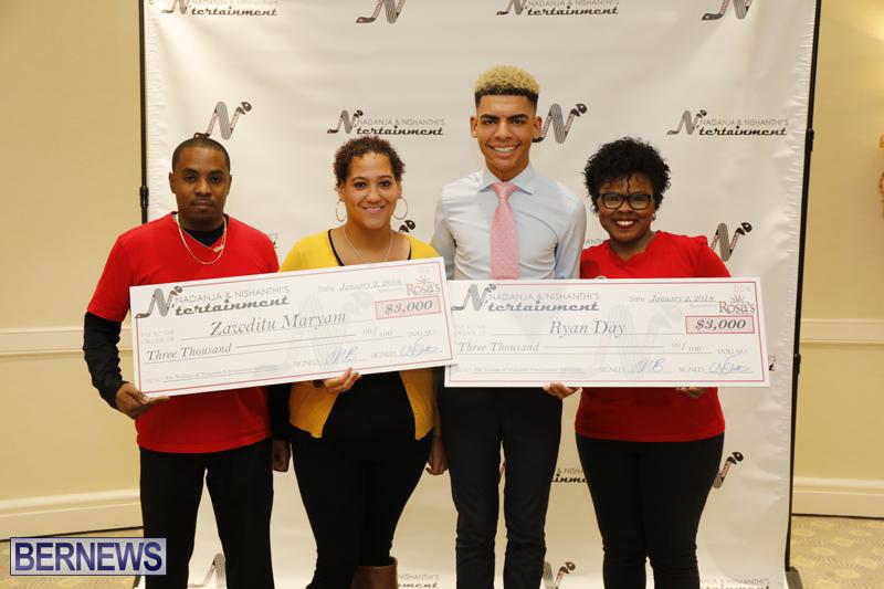 Nadanja & Nishanthi Scholarship Bermuda Jan 2 2018 (1)