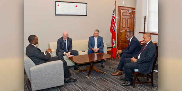 Premier meets FIFA President Bermuda Jan 17 2018 (1)