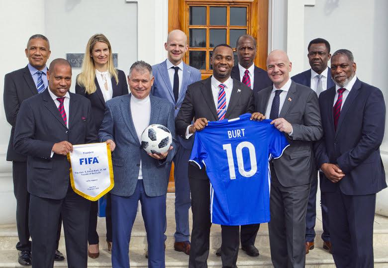 Premier meets FIFA President Bermuda Jan 17 2018 (3)
