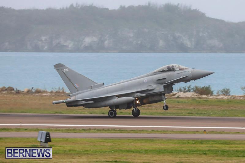 RAF-Typhoon-Bermuda-Airport-January-16-2018-2124