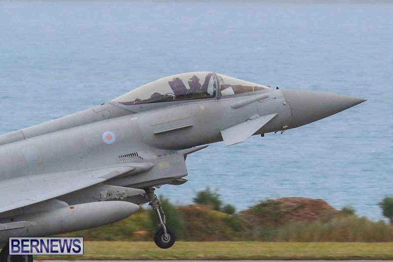 RAF-Typhoon-Bermuda-Airport-January-16-2018-2132