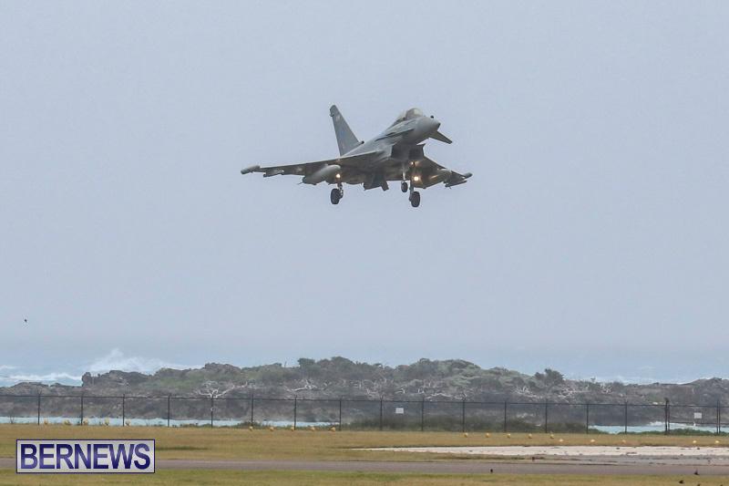 RAF-Typhoon-Bermuda-Airport-January-16-2018-2133