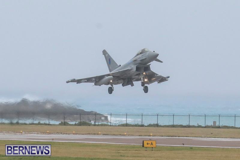 RAF-Typhoon-Bermuda-Airport-January-16-2018-2134