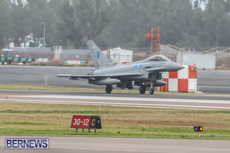 RAF-Typhoon-Bermuda-Airport-January-16-2018-2139