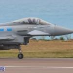 RAF Typhoon Bermuda Airport, January 16 2018-2145