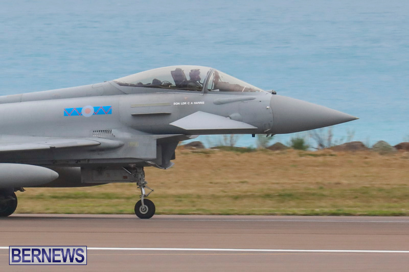 RAF-Typhoon-Bermuda-Airport-January-16-2018-2145