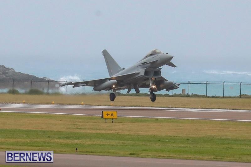 RAF-Typhoon-Bermuda-Airport-January-16-2018-2148