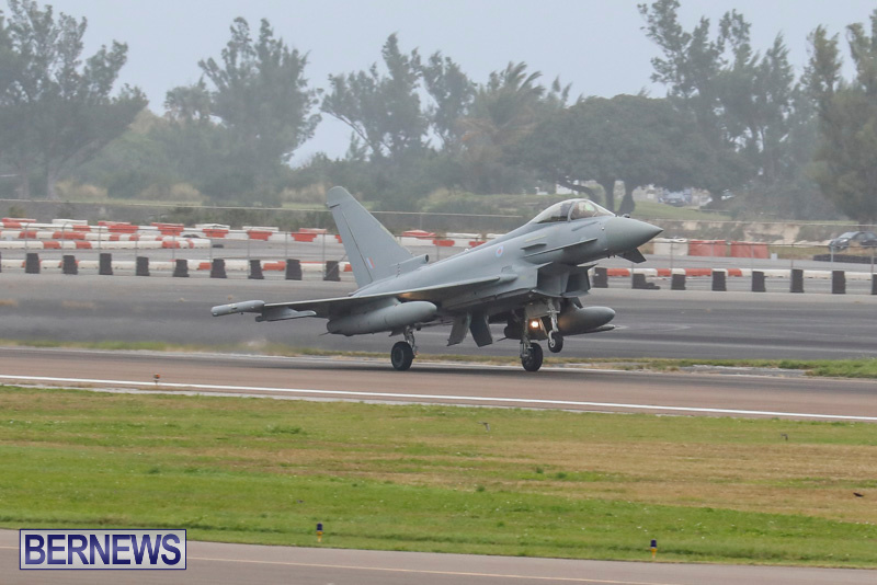 RAF-Typhoon-Bermuda-Airport-January-16-2018-2152