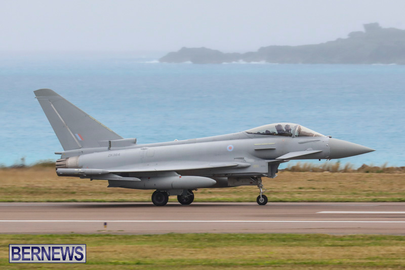 RAF-Typhoon-Bermuda-Airport-January-16-2018-2157