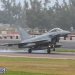 RAF Typhoon Bermuda Airport, January 16 2018-2171