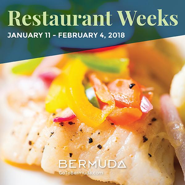 Restaurant Weeks Bermuda Jan 16 2018
