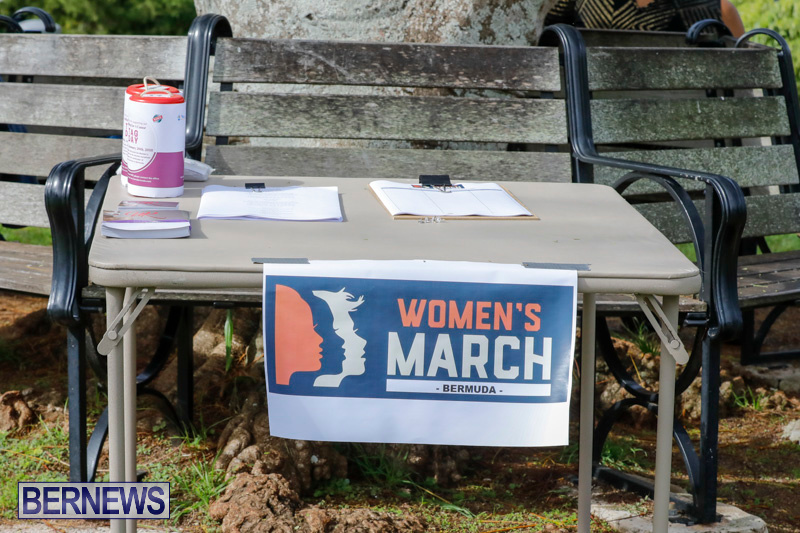 Womens March At Queen Elizabeth Park Bermuda, January 20 2018-2938