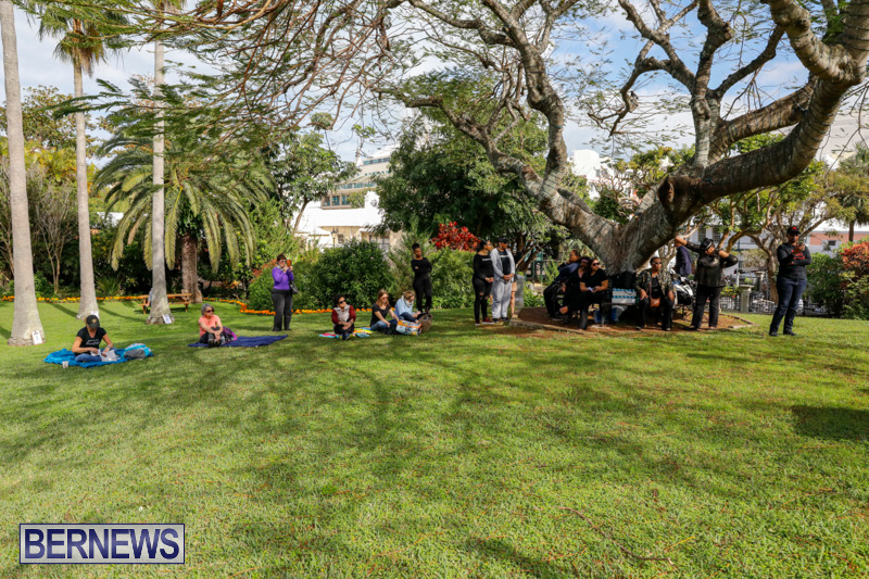 Womens March At Queen Elizabeth Park Bermuda, January 20 2018-2994
