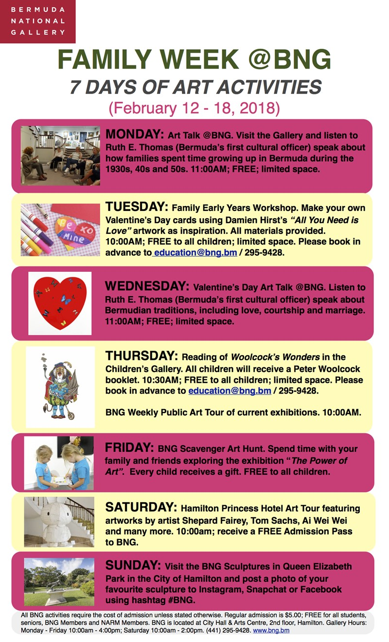 2018 Family February Month Flyer