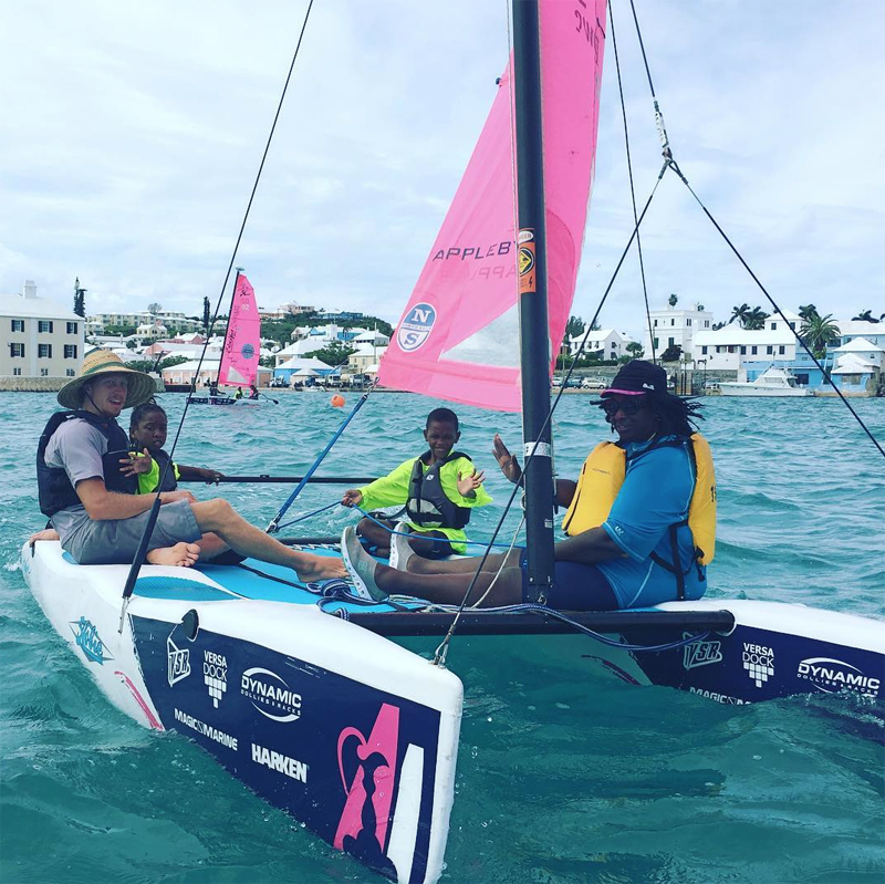 BF&M No Limits Sailing - Endeavour Bermuda Feb 9 2018 (2)
