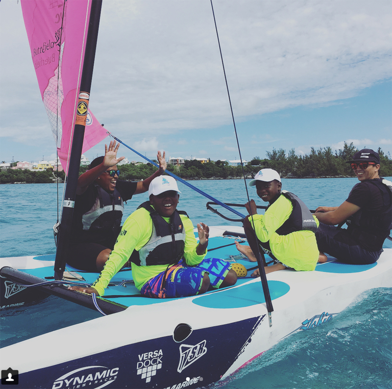 BF&M No Limits Sailing - Endeavour Bermuda Feb 9 2018 (3)