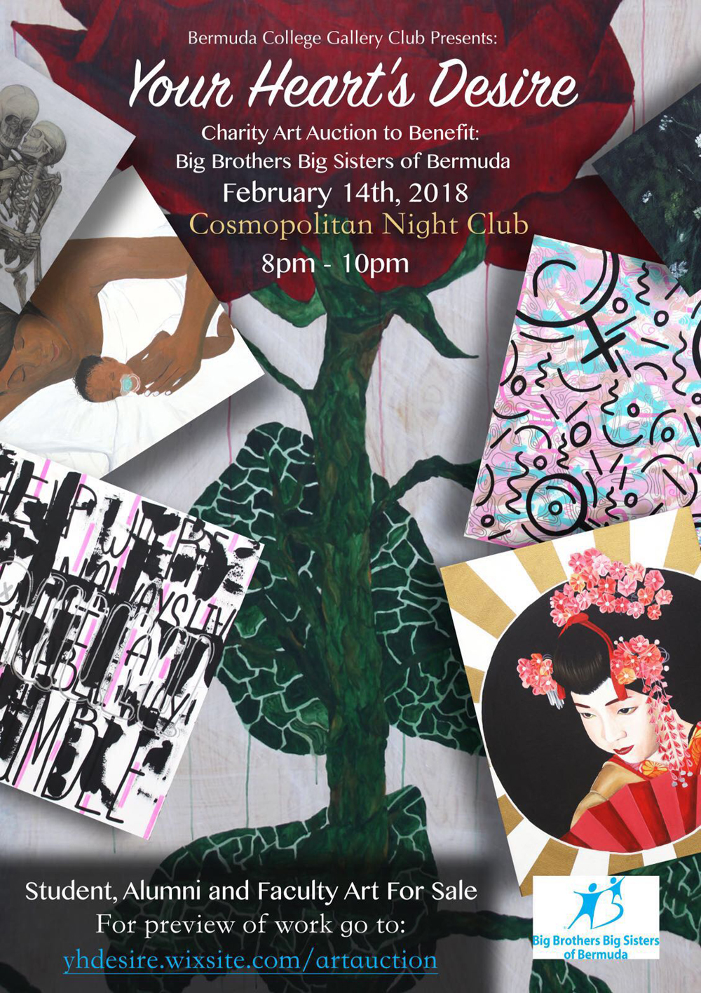 Bermuda College Gallery Club Art Auction Feb 12 2018
