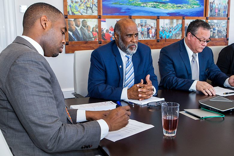 Bermuda Government meet Feb 21 2018 04