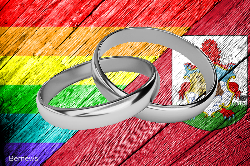 Bermuda rainbow ring  wedding LGBTQ generic 34r3