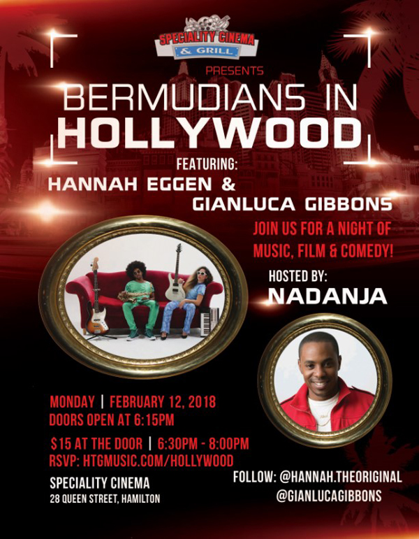Bermudians In Hollywood Feb 2018
