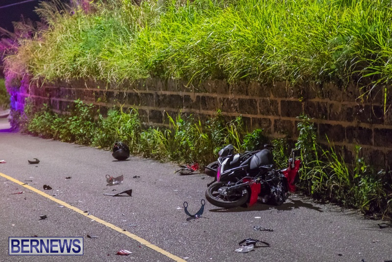 Bike Van Collision Camp Road Bermuda, February 28 2018 (7)