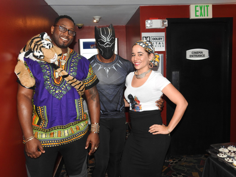 Foster Parent Association Black Panther Showing Bermuda Feb 18 2018 (7)
