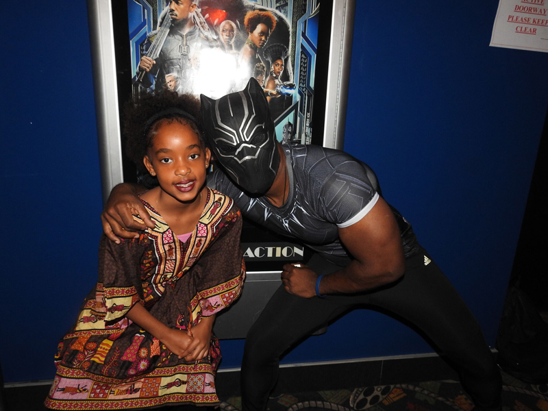 Foster Parent Association Black Panther Showing Bermuda Feb 18 2018 (9)