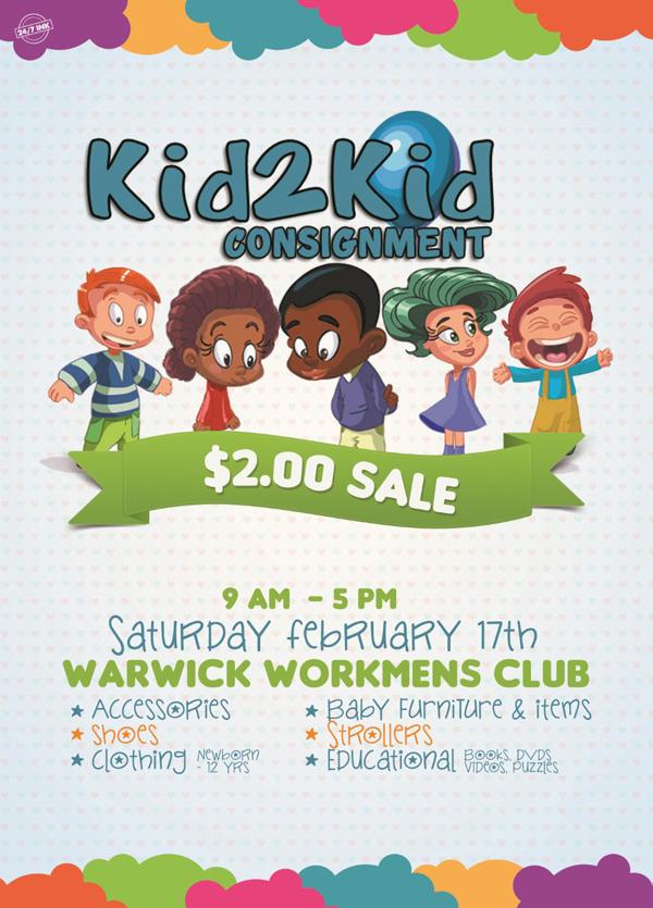 Kid2Kid Sale Bermuda Feb 2018