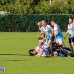 Mens Rugby Squad Play Queens University Bermuda, February 24 2018-3419