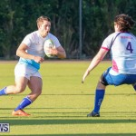 Mens Rugby Squad Play Queens University Bermuda, February 24 2018-3538