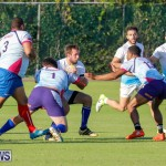 Mens Rugby Squad Play Queens University Bermuda, February 24 2018-3561