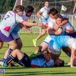 Mens Rugby Squad Play Queens University Bermuda, February 24 2018-3593